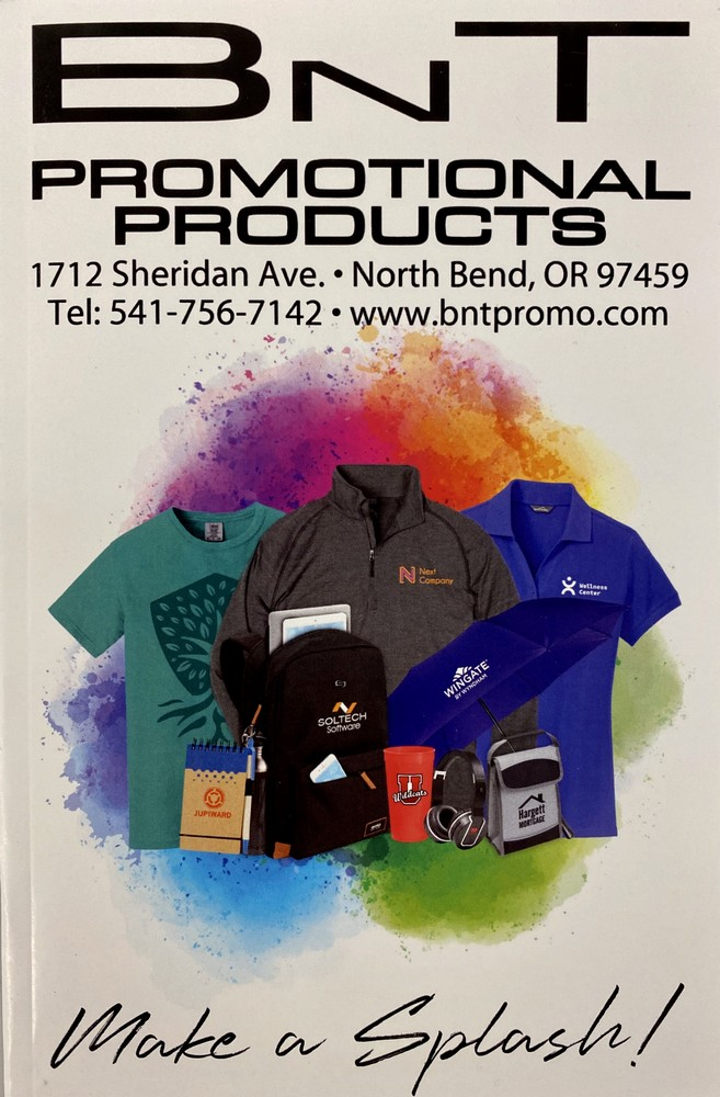 BNT Promo Products Mini Catalog