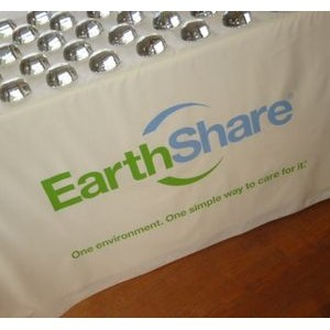 4' 100% Organically Grown Cotton Table Cover W/ 38