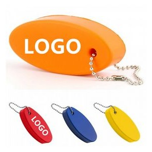 Durable Floating Oval Keychain Boat Keychain